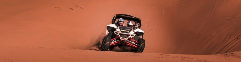 Buggy Sand Racing Header