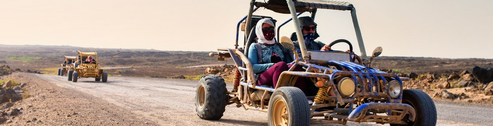 Buggy Wüste Safari Header